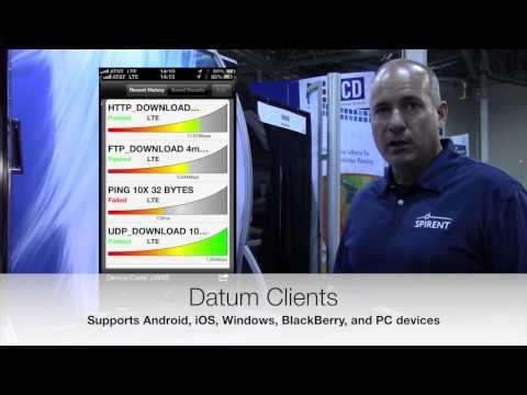 CTIA 2013 Nomad And Datum Live Demonstration