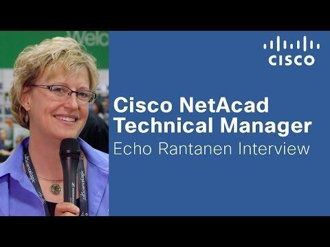 Cisco NetAcad Technical Manager Echo Rantanen Interview
