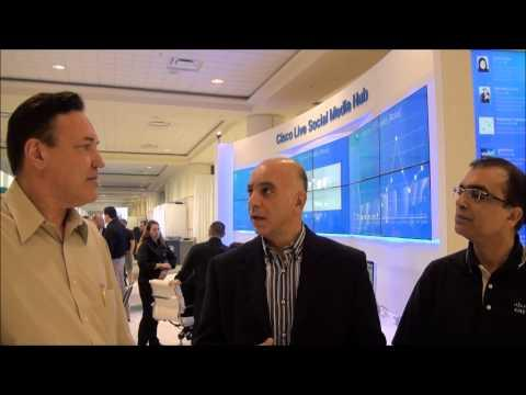 Tony Shakib And Navdeep Johar Talk About The Internet Of Things (IoT) At Cisco Live 2013
