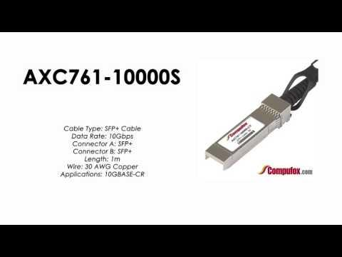 AXC761-10000S  |  Netgear Compatible 1m Direct Attach SFP+ Cable