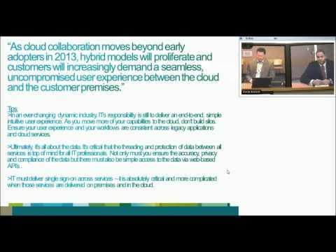Cisco Fireside Chat: Ways IT Is Dealing With The Cloud (5 Of 6)