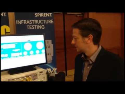 Spirent  Demonstrates 400G Ethernet Test Solution