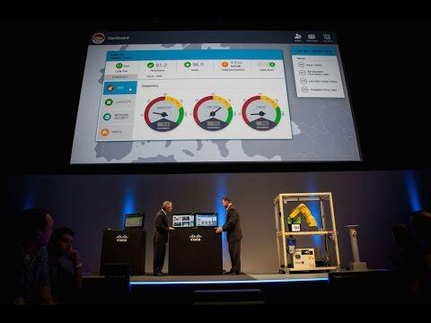 Connected Manufacturing Demo | Cisco Live Milan 2015 Keynote