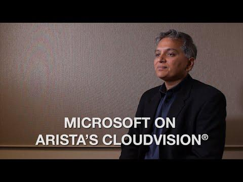 Microsoft On Arista's CloudVision®