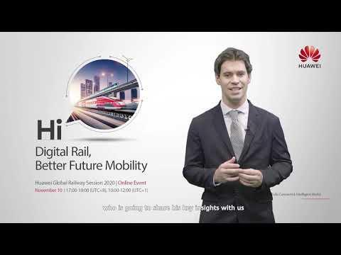 Huawei Global Railway Forum 2020 - UIC