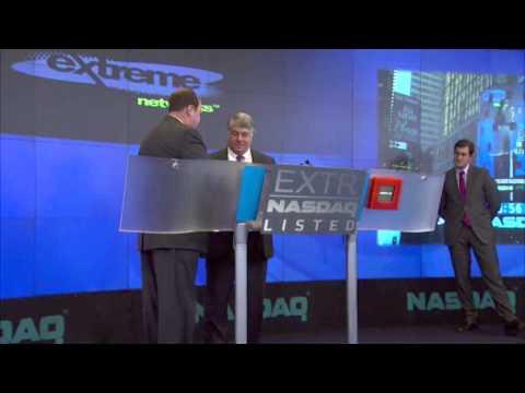 Extreme Networks Rings The NASDAQ Closing Bell