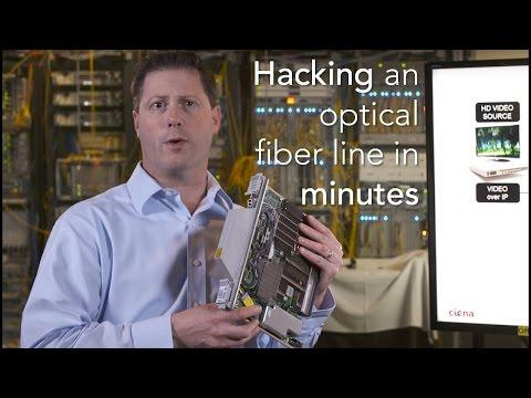 In The Lab: Hacking A Fiber Optic Line In Minutes