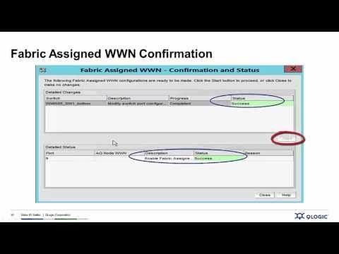 Introduction To StorFusion™ Demo 2 – Fabric Assigned Port Worldwide Name (FA-WWN)