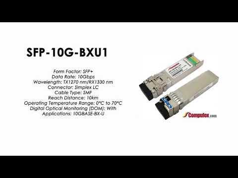 SFP-10G-BXU1  |  Huawei Compatible SFP+ 10GBASE-BXU TX1270nm/RX1330nm 10km