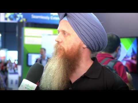 GS Khalsa And Roving Reporter Gabriel Chapman