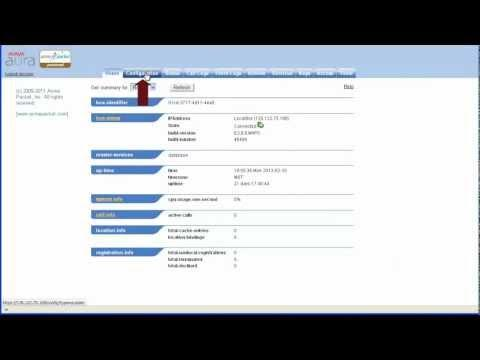 How To Administer An Avaya Aura Session Border Controller (SBC) SNMP Trap Target